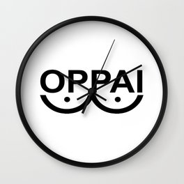 OPPAI - One-punch man tribute Wall Clock