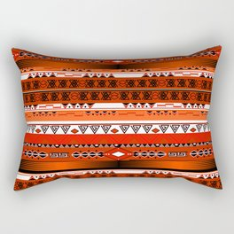 Ethnic stripes. Tribal pattern Indians. Rectangular Pillow