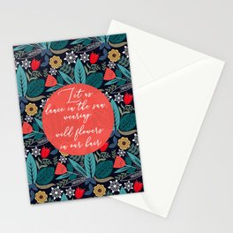 Let Us Dance In The Sun Stationery Cards