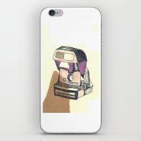 polaroid iPhone & iPod Skins featuring Polaroid by Nicole Tomaszewska