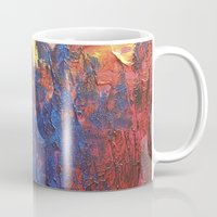 woodland Mugs featuring Woodland by Stephanie Cole CREATIONS