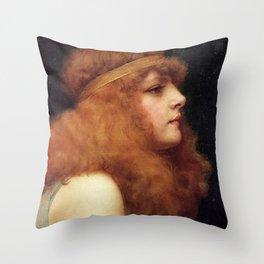 John Collier Throw Pillow