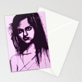 Sullen Girl Stationery Cards