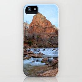 Virgin_River Falls - Zion Court iPhone Case