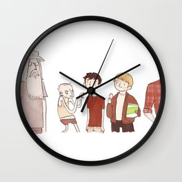 The Broship of the Ring Wall Clock