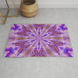 Cosmic Mandala Rug
