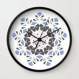 Winter Storm in Spring Wall Clock