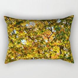 """Autumn is a second spring when every leaf is a flower.""  ― Albert Camus Rectangular Pillow"