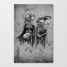 Danse Macabre (variation) Canvas Print