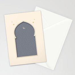 Mihrab - Minimal Grey Stationery Cards