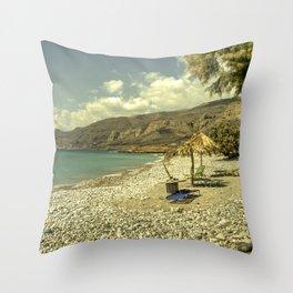 Cretan Paradise Throw Pillow
