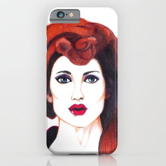 Fashion Portrait  iPhone & iPod Case