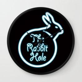 Alice in Wonderland the rabbit hole Wall Clock