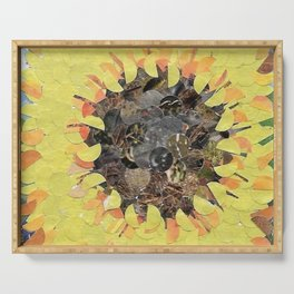 """""""Sunflower""""  Hole Punch Serving Tray"""