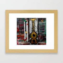 reggae four Framed Art Print