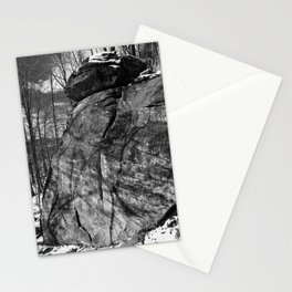 A view of the rocks Stationery Cards