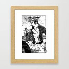 Caine Framed Art Print