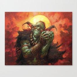 Squee, Goblin Nabob Canvas Print