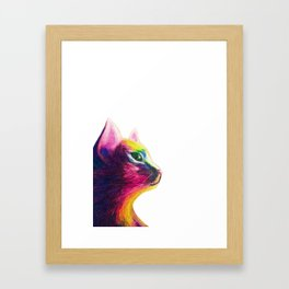 Chinese year of cats Framed Art Print