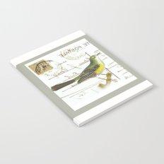 French bird Notebook