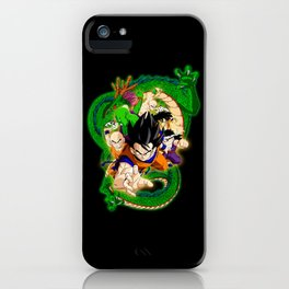 Goku and Friends iPhone Case