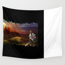No Fear for the Setting Sun Wall Tapestry