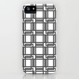 Interlocking Pattern iPhone Case
