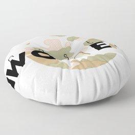 NASTY WOMEN camo Floor Pillow