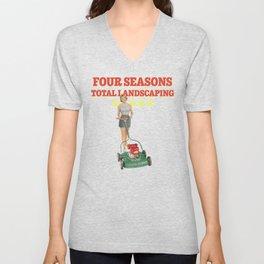 Four Seasons Total Landscaping Unisex V-Neck