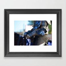 Jousting Horse - The Lion Framed Art Print
