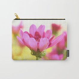 Pink mum with peack background Carry-All Pouch