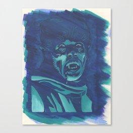 The Wolf Man Canvas Print