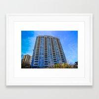 buildings Framed Art Prints featuring buildings by sannngat