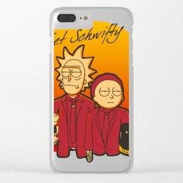 Get Schwifty Album Clear iPhone Case