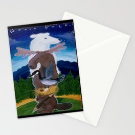 North Pole! Stationery Cards