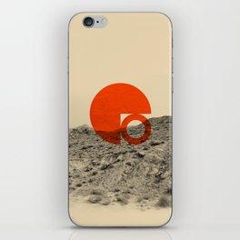 Symbol of Chaos Invert version iPhone Skin
