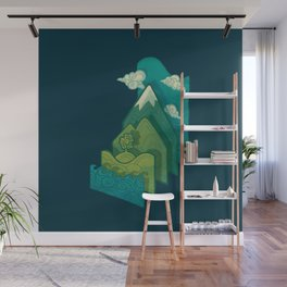How to Build a Landscape Wall Mural