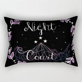 Starry Night Court Rectangular Pillow