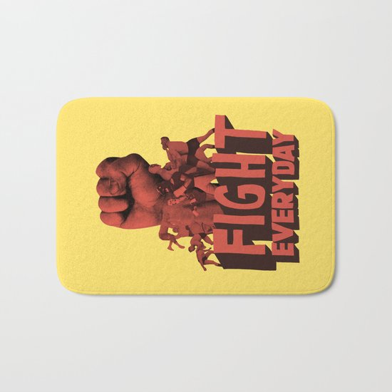 FIGHT EVERYDAY Bath Mat
