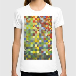 This Grid Is From Somewhere Within Me T-shirt