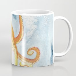 Octopus Watercolor 2 Coffee Mug