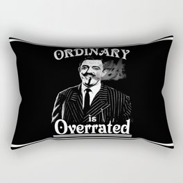 Gomez: Ordinary is Overrated Rectangular Pillow