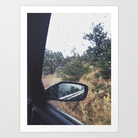 Rain II Art Print