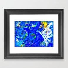 Splash of Paint Framed Art Print