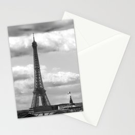 Eiffel Tower from rooftop of Galeries Lafayette Stationery Cards