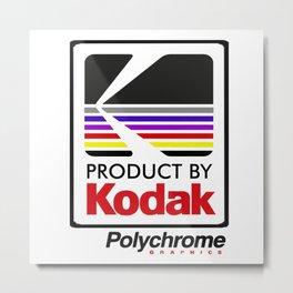 Kodak Polychrome Bomber Metal Print