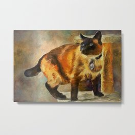 Sulley In The House Metal Print