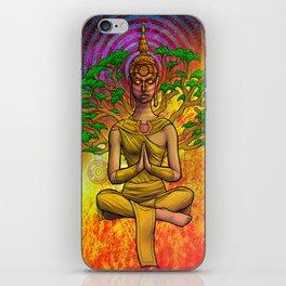 Psychedelic Buddha iPhone Skin