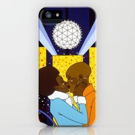 New York Kiss iPhone Case