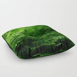 In the Forest Floor Pillow